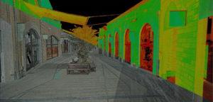 Soratte Outlet, Laser Scanner, La SIA ingegneria