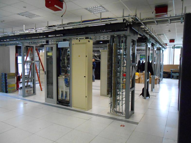 Sala CED Telecom, La SIA ingegneria