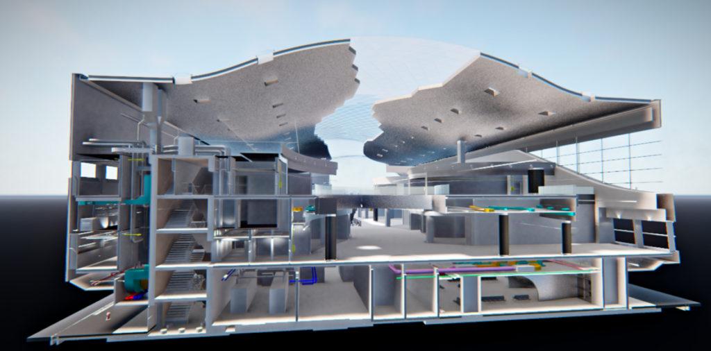Modellazione MEP Terminal Fiumicino - La SIA ingegneria