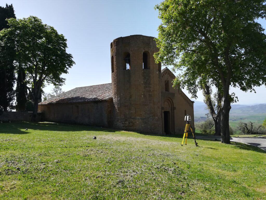 Chiesa della Pieve di Corsignano in Pienza