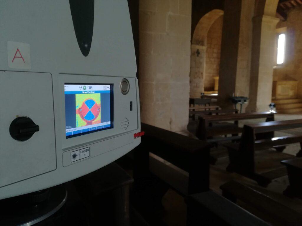 Rilievi con laser scanner - La SIA