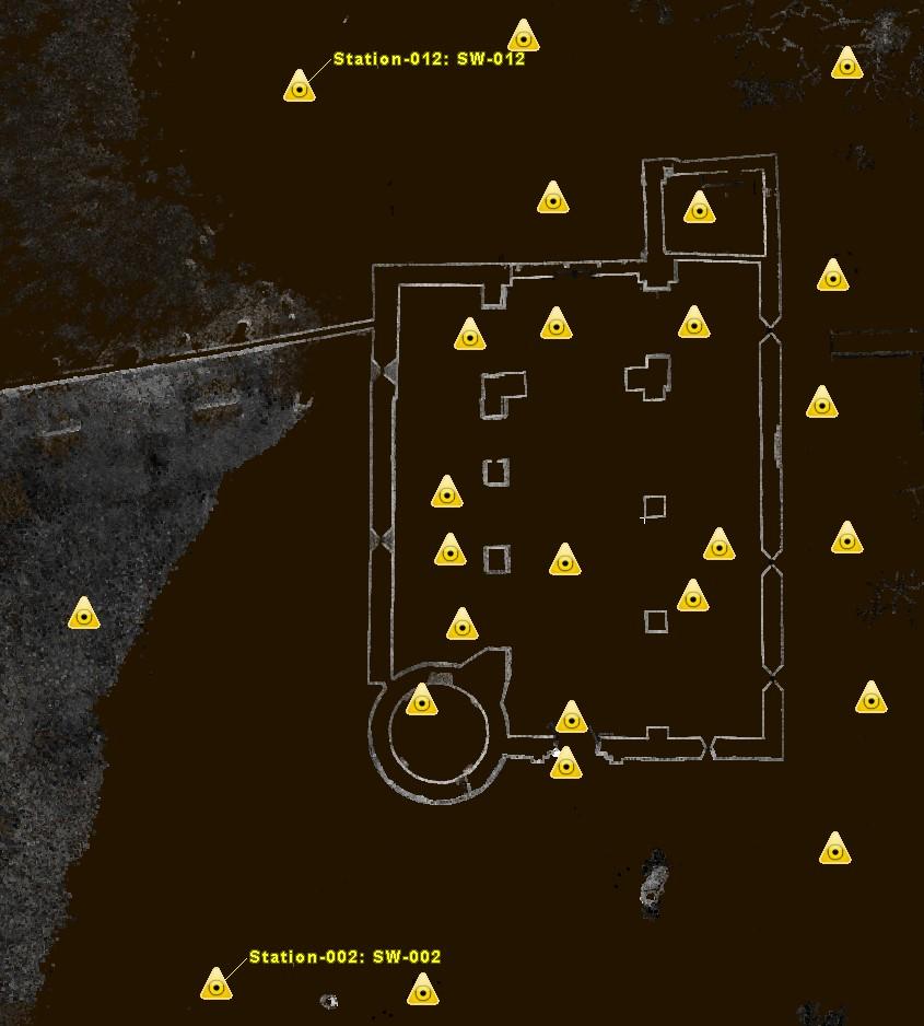Rilievo con Laser Scanner - La SIA