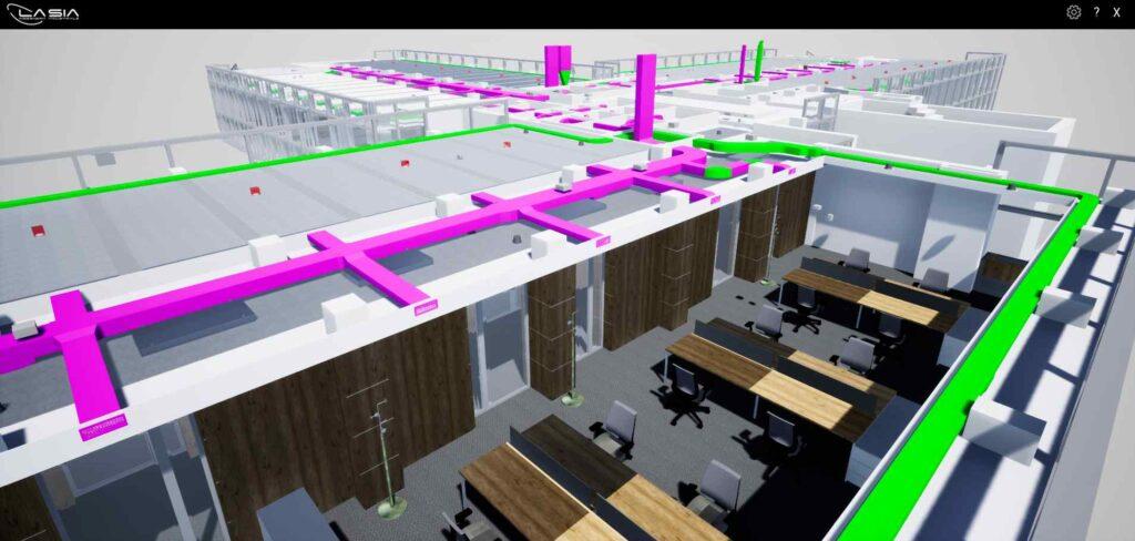 Progettazione immersiva di luoghi di lavoro