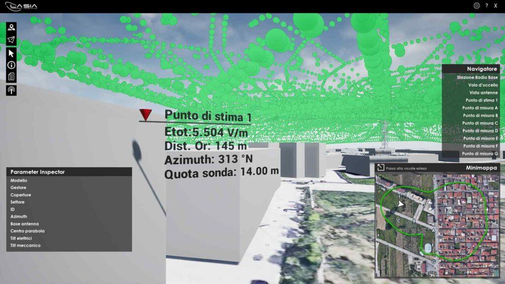 Progettazione immersiva di infrastrutture per telecomunicazioni