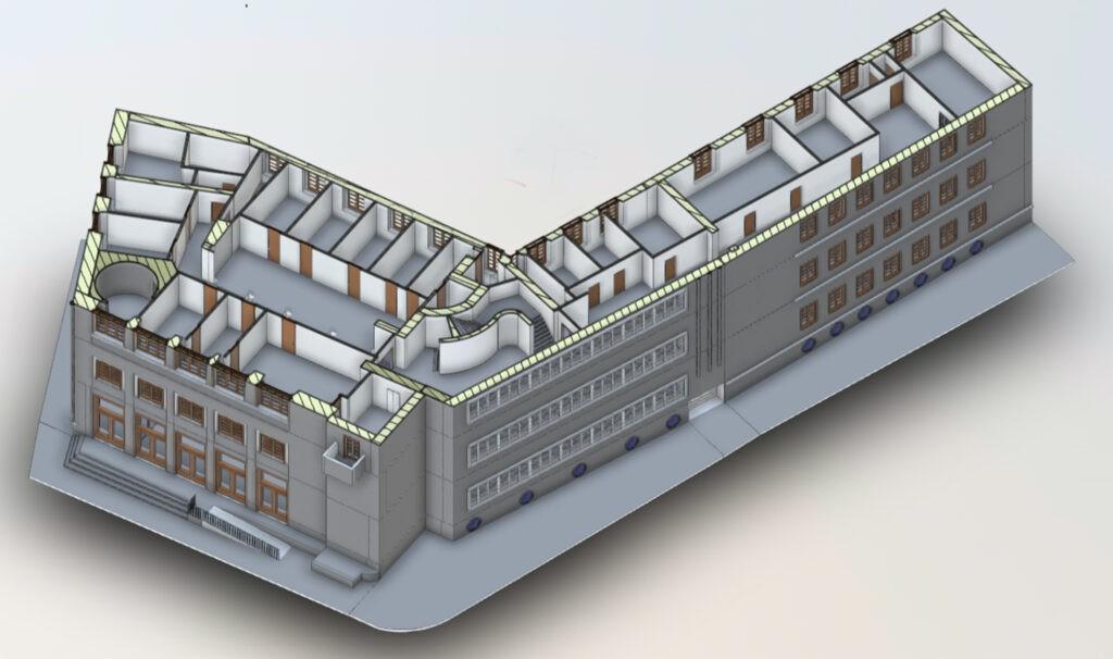 Ex Casa Littoria, Trento - La SIA Ingegneria