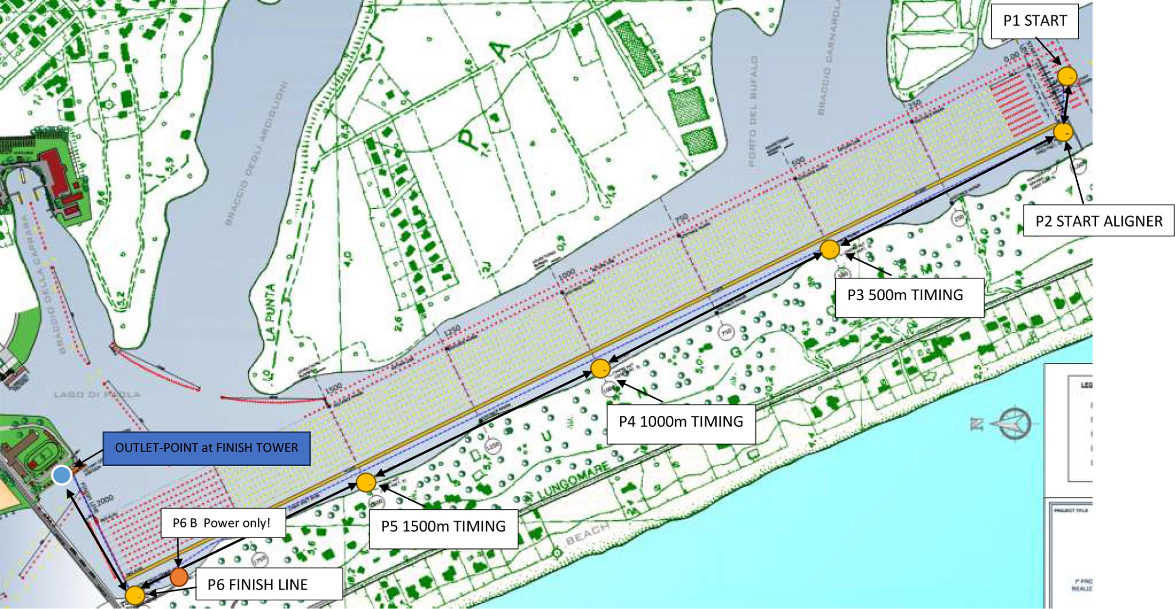 Realizzazione campo di regata - La SIA spa